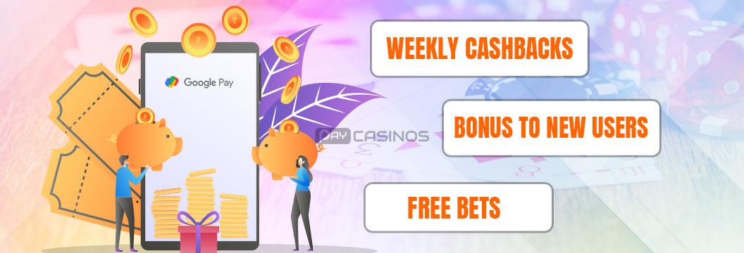 betting bonus with google pay